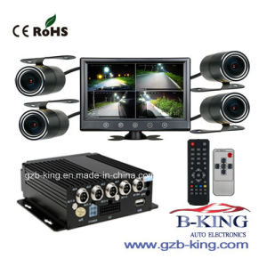 New Bus Truck Van 360 Degree video Recorder DVR Black Box (with night vision) pictures & photos