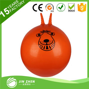 Colorful PVC Special Hopper Ball Pilates Exercise Gym Yoga Ball