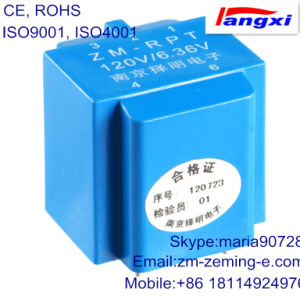 Micro Voltage Transformer Used for Relay Protection/ Miniature Electronic Voltage Transformer Zm-Rpt pictures & photos
