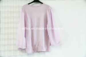 Round Neck Velvet Fashioned Dress for Women pictures & photos