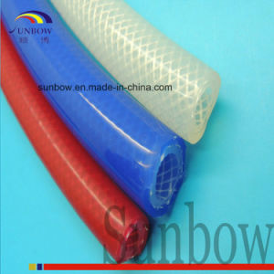 Extruded Silicone Rubber Reinforced Flexible High Temperature Resistance Tube Sb-Srrt pictures & photos