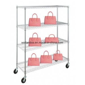 Best Price Chrome Metal Products Display Shelf, NSF & SGS Approval pictures & photos