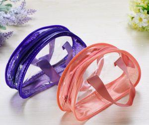 Transparent PVC Plastic Bags Eco - Friendly Zipper Gift Bags pictures & photos