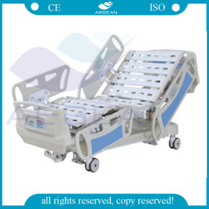 Five Functions Weighing Scale ICU Hospital Bed (AG-BY009) pictures & photos