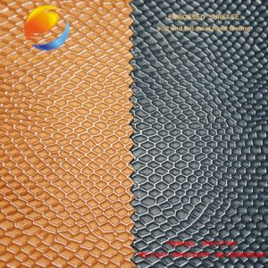 Bag Fabric of PU Artificial Leather Fpa17y16f pictures & photos