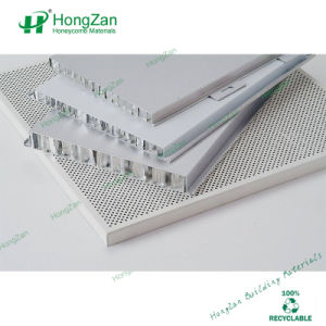 Interior and Exterior Use Aluminum Honeycomb Ceiling Panel pictures & photos