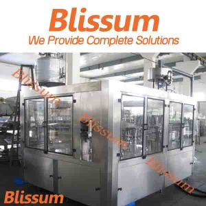 2017 Blissum Complete Flavour Water and Juice Filling Line pictures & photos