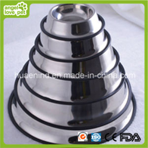 Stainless Steel Pet Bowl Various Sizes pictures & photos
