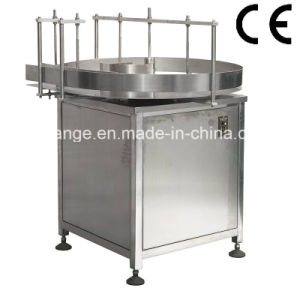 Top quality semi auto bottle unscrambler machine for various round bottle jar cylinders pictures & photos