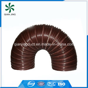 Brown Semi-Rigid Aluminum Flexible Duct pictures & photos