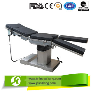 FDA Certification Low Price Adjustable Hospital Bed Table pictures & photos