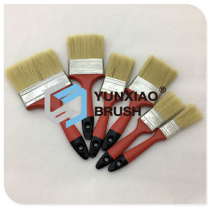 Plastic Handle Paint Brush with Pure Bristle pictures & photos