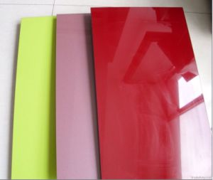 Hot Sell 18mm 1220*2440mm Size High Glossy UV MDF pictures & photos