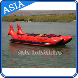 Single Lane for 4-10 Person Inflatable Banana Boat for Water Exciting People Games pictures & photos