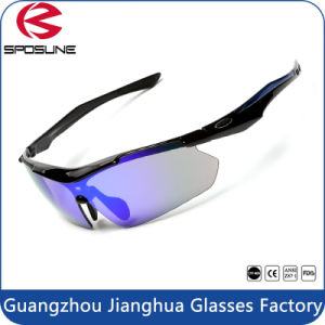 China Wholesaler Sunglasses Night Polarized Sun Glasses with 5 Lenses pictures & photos