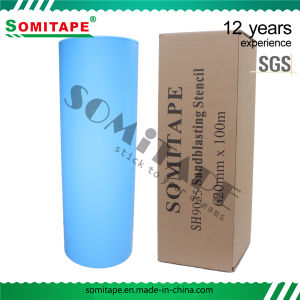 Somi Tape Sh3200 Strong Adhesion Heat Resistant Sandblasting Film Without Residue pictures & photos