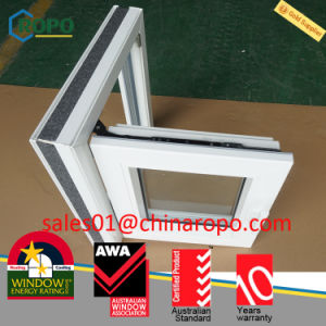 German Rehau PVC Australian Standard Tilt Turn Windows Double Glazing pictures & photos