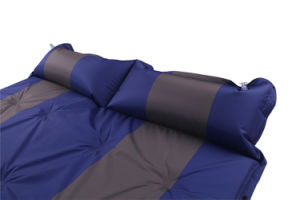 Automatic Self-Inflatable Outdoor Sleeping Mattress with Pillow pictures & photos