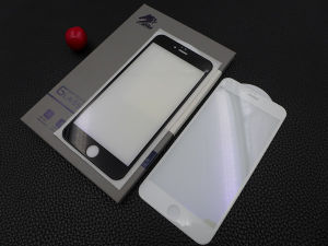 CNC Precise Engraved Anti Radiation 3D Anti-Blue Ray Tempered Glass Screen Protector for iPhone6+