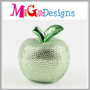 Colorful Apple Ceramic Piggy Bank with Diamond for Gifts pictures & photos
