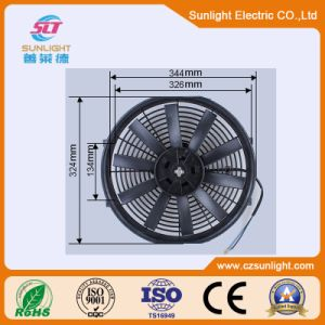 12V 24V 120W Condenser Air Condition Cooling Fan pictures & photos