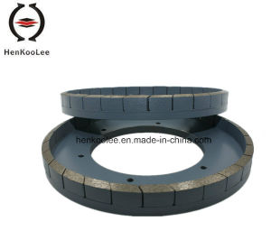 Bevel Edge Segment Diamond Grinding Wheel pictures & photos