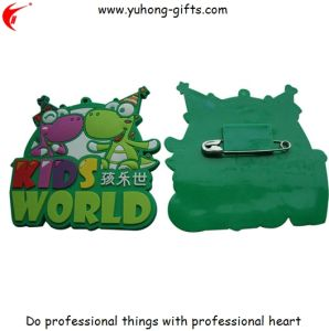 Fashion Personalized Soft Rubber PVC Pin (YH-PP005) pictures & photos