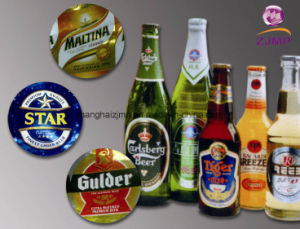 71g Embossed Metalized Beer Label pictures & photos