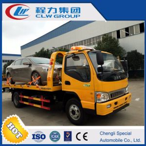 Euro5 JAC Flatbed Wrecker Tow Truck pictures & photos