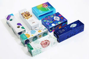 Professional Customized Printed Paperboard Cosmetic Packaging Box pictures & photos