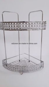 Chrome-Plating Metal Wire Bathroom Hanging Shower Caddy Bathroom Caddy pictures & photos
