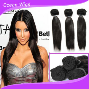 Hot Selling Temple Hair 7A Virgin Indian Remy Hair Straight pictures & photos