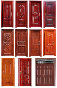 Competitive Security Steel Interior/Entry Doors for Houses pictures & photos