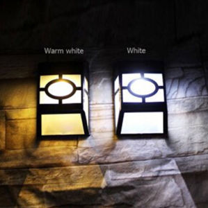PIR Outdoor Solar LED Wall Light IP65 with Ce RoHS pictures & photos