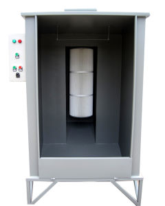 Batch Powder Coating Booth Paint Spray Equipment pictures & photos