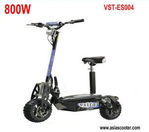 800W Foldable Electric Scooter with Two Big Wheels pictures & photos