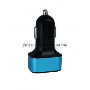 Three USB Car Charger with Different Color pictures & photos