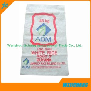 45kgs Laminated Woven PP Bags with Offset Print for Grain Rice pictures & photos