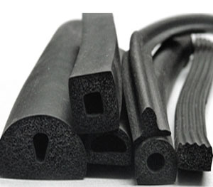 China EPDM Silicone Foam Rubber Extrusion Profiles - China EPDM ...