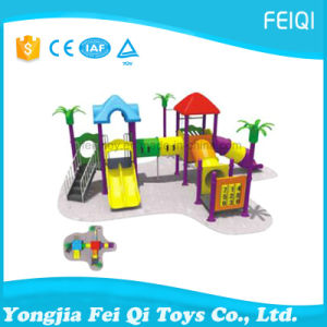 Best Choice Factory Price Plastic Slide Swing Set Nature Series (FQ-YQ05601) pictures & photos
