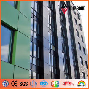 PVDF Coated Green Yellow Blue Aluminum Composite Panel pictures & photos