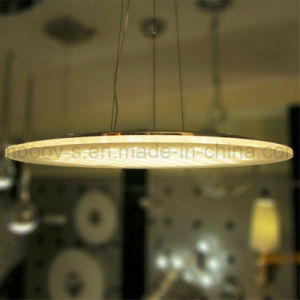 Modern Commercial Office Ultrathin Round Matrix LED Pendant Light