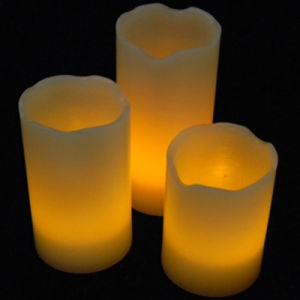 Pillar Flickering Flameless LED Candle for Home Decoration pictures & photos