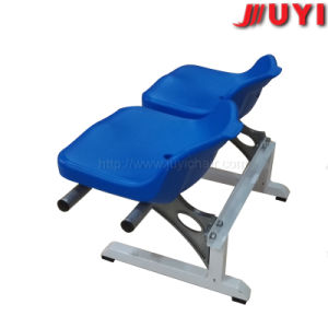 Blm-2508 Leisure Low Back Blue Bar Furniture Baseball Lightweight Folding Outdoor Reclining Chair Cheap Plastic Folding Chairs pictures & photos