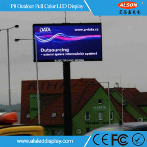 Waterproof P8 Full Color Outdoor LED Display Screen for Advertising pictures & photos