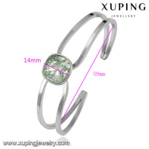 51599 Fashion Jewelry Indonesia Crystals From Swarovski Bangles for Wedding or Party pictures & photos
