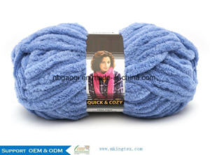 Polyester Acrylic Crochet Yarn Special Reflected Yarn for Women pictures & photos