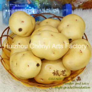 Cheap Wholesale New Potato Artificial Fruit pictures & photos