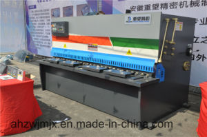 We67k 125t/3200 Series Electro-Hydraulic Synchronous CNC Press Brake pictures & photos