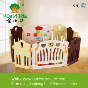 2016 Child Safety Indoor Plastic Fence Portable Fence for Kids